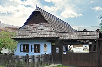 Memorial house of Martin Kukucin