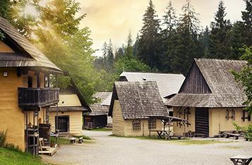 Museum of Orava village in Zuberec