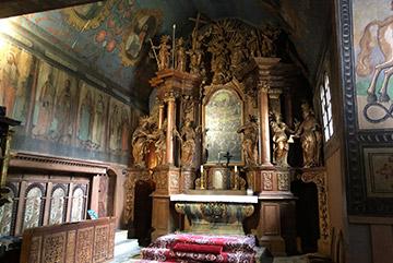 Wooden ghotic church in Tvrdosin