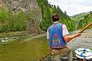Rafts on Orava river