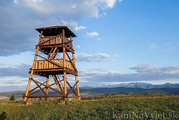 Sightseeing tower in Tvrdosin